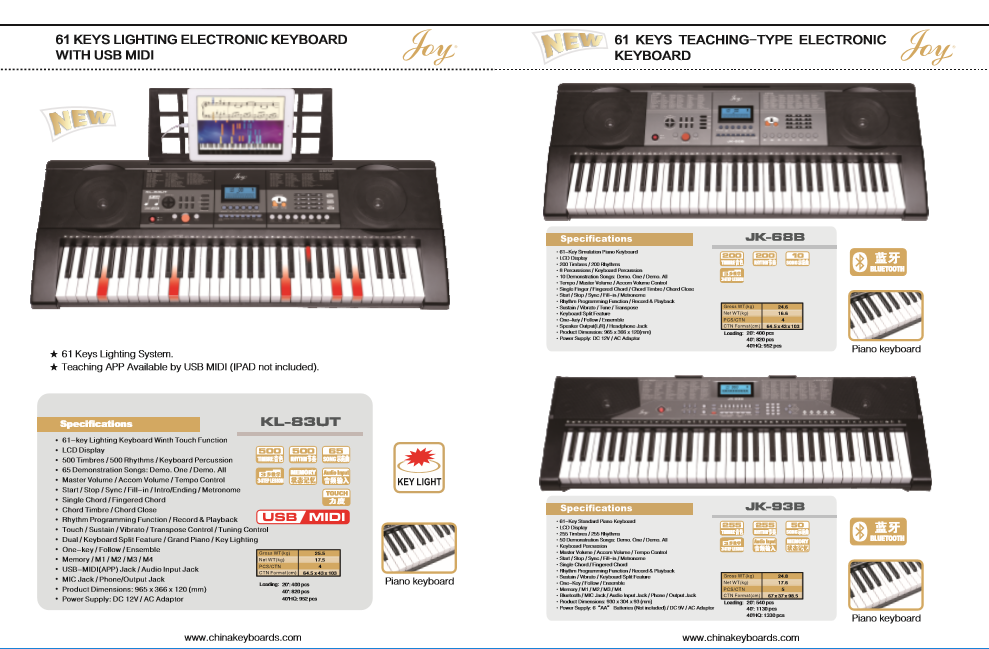 Catalogue - China Joy Keyboards Co ,Ltd
